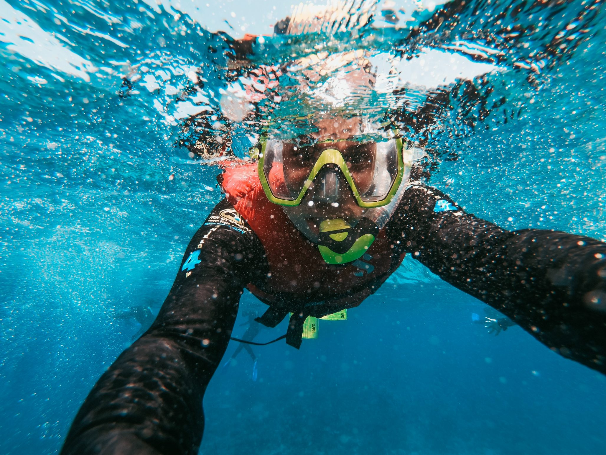 Snorkelling in Gozo