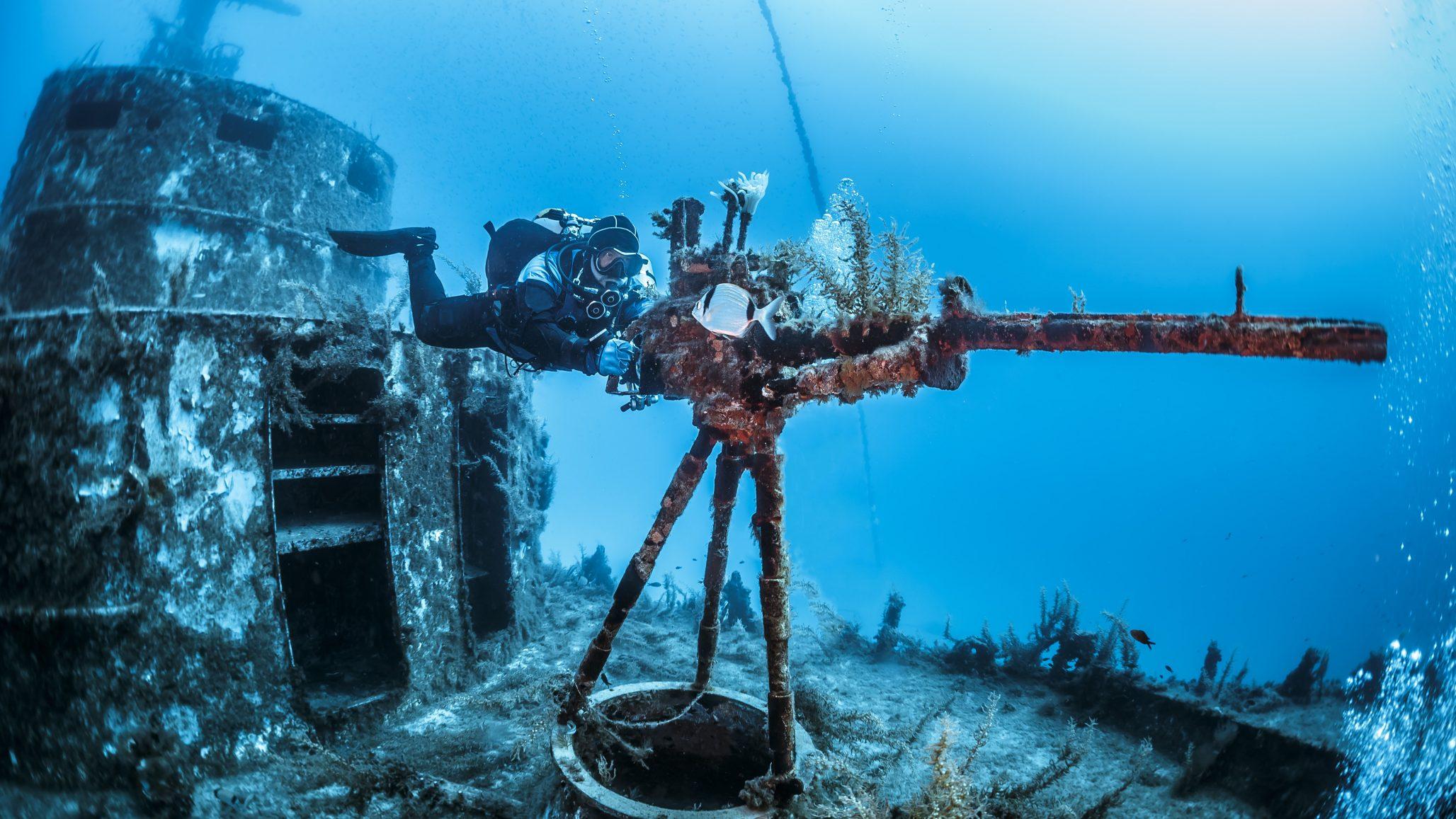 Wreck Dive Site Malta